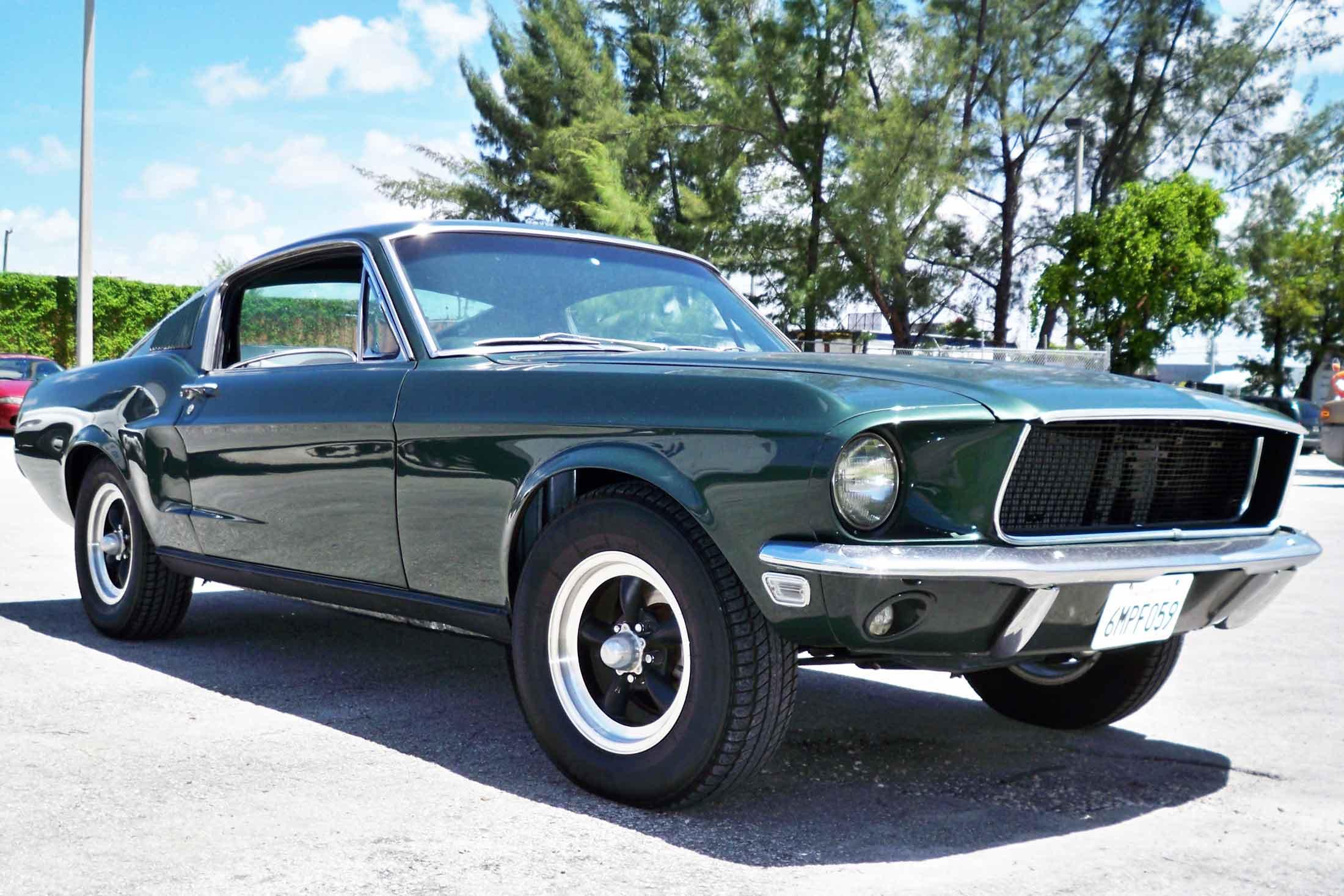 Mustang Fastback Bullitt