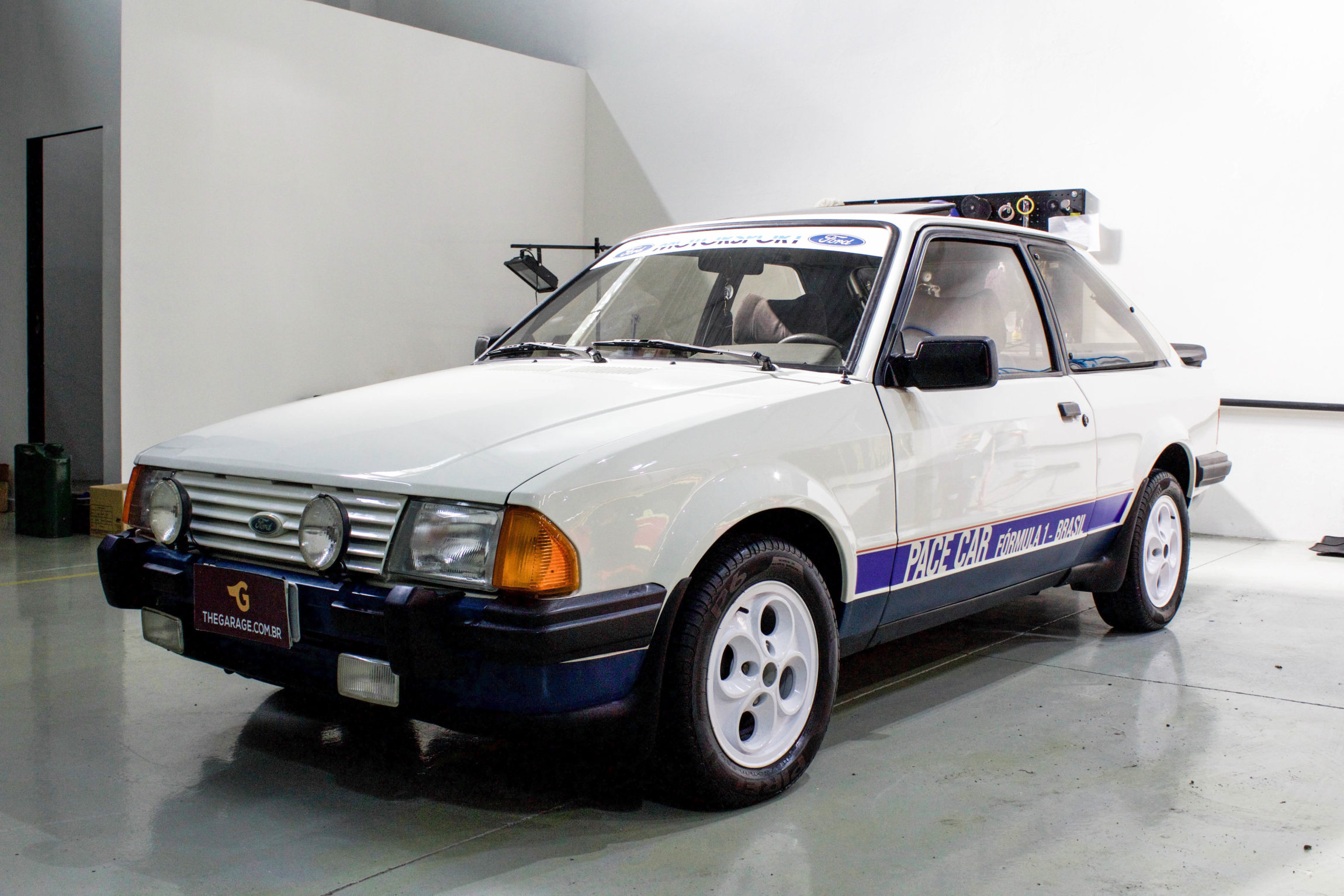 1984 Ford Escort Xr3 Pace Car