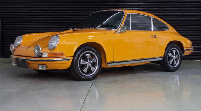 1971 Porsche 911T Laranja